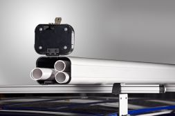 3m lined pipe carrier with twin opening VG400-3L lined (Carries up to 32 x 15 mm pipes)