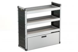 Drop-down door - suits 1000mm (W) unit - Van Racking Accessory