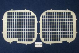 Vauxhall Vivaro 2001 - 2014  Window Grilles L1, L2H1 Twin Door Model
