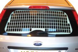 Ford Fiesta 2003 - 2009  Window Grille L1H1 Tailgate Model
