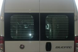 Peugeot Boxer 2006 on  Window Grilles L1, L2, L3, L4H1, H2 Twin Door Model