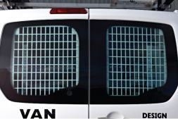 Fiat Scudo 2007 - 2016  Window Grilles L1, L2H1 Twin Door Model