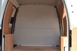 Volkswagen Caddy 2010 - 2015 Van Bulkheads - Full Bulkhead solid (to replace original factory fitted Bulkhead) L1, L2H1