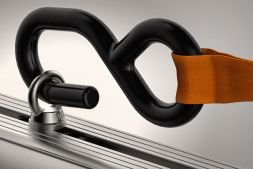 1x pair of 800kg external ratchet straps & 2x pairs of s/steel eye bolts VGRS-4K (Compatible with ULTI Bar T-track)