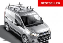 Ford Transit Connect 2014 on Roof Bars - 3x ULTI Bars L1H1