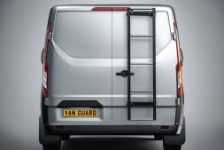 Ford Transit Custom 2013 on Rear Door Ladders - Galvanised 5-step ladder  Twin Door Model