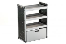 Drop-down door - suits 750mm (W) unit - Van Racking Accessory
