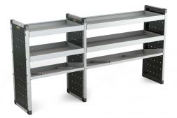 Double Van Racking Unit - 1000mm (H) x 750mm (W) & 1250mm (W)