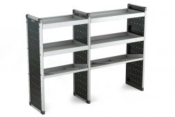 Double Van Racking Unit - 1250mm (H) x 750mm (W) & 1000mm (W)