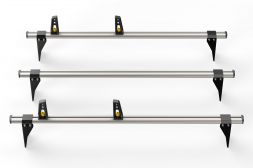 Ford Transit 2000 - 2014 Roof Bars - 3x ULTI Bars - 190mm brackets L2, L3H2