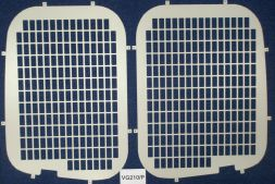 Renault Trafic 2001 - 2014  Window Grilles L1, L2H2 Twin Door Model