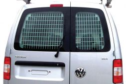 Volkswagen Caddy 2010 - 2015  Window Grilles L1, L2H1 Twin Door Model