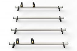 Peugeot Boxer 2006 on Roof Bars - 4x ULTI Bars L3, L4H2, H3