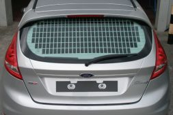 Ford Fiesta March 2009 - 2017  Window Grille L1H1 Tailgate Model