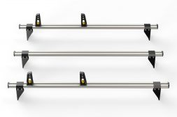 Ford Transit 2000 - 2014 Roof Bars - 3x ULTI Bars - 130mm brackets L1, L2H1