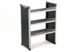 Single Van Racking Unit - 1000mm (H) x 750mm (W) - 3 Angled Shelves