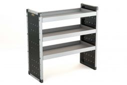 Single Van Racking Unit - 1000mm (H) x 1000mm (W) - 3 Straight Shelves