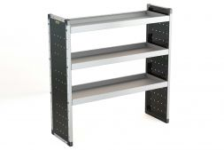 Single Van Racking Unit - 1250mm (H) x 1250mm (W) - 3 Straight Shelves