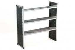 Single Van Racking Unit - 1250mm (H) x 1250mm (W) - 3 Angled Shelves