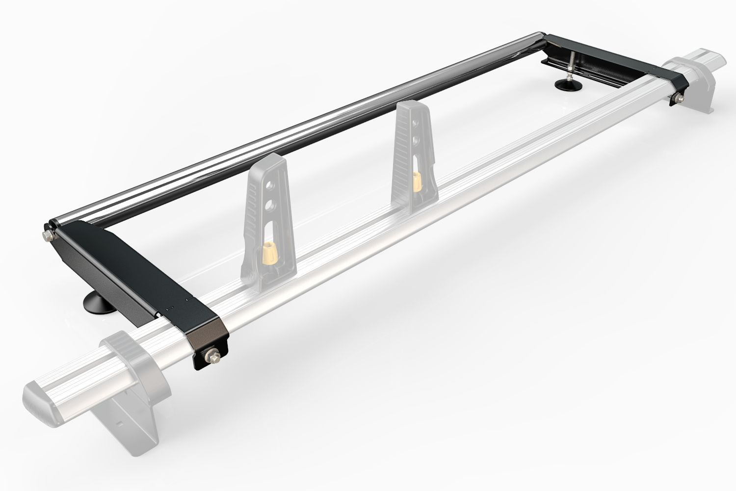 Van Demon Rhino Delta 3 Bar Heavy Duty Roof Rack with 4 Free Load Stops for VW Transporter T6 2015 on