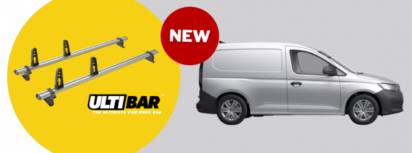 Roof Bars Now Available for VW Caddy 2021 Onwards - Caddy Cargo / Caddy 5