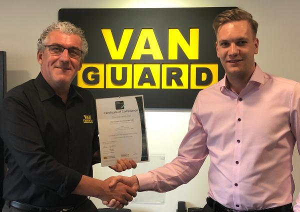 Van Guard Awarded With Cyber Essentials Accreditation