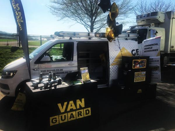 Van Guard attend Exeter Tool Fair 2018