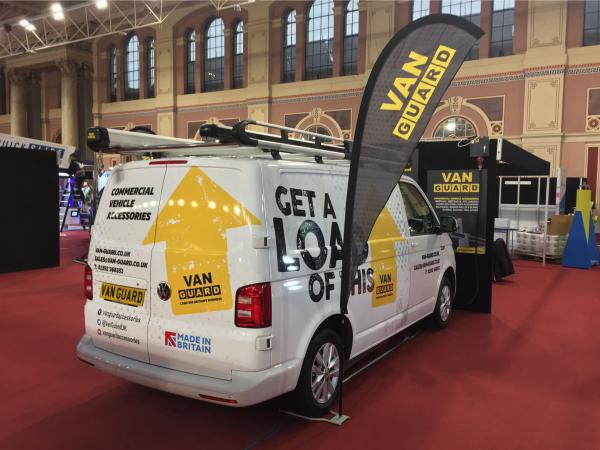 Van Guard Roof Racks at Toolfair & Elex Show – Alexandra Palace, London – 31st Jan & 1st Feb 2018