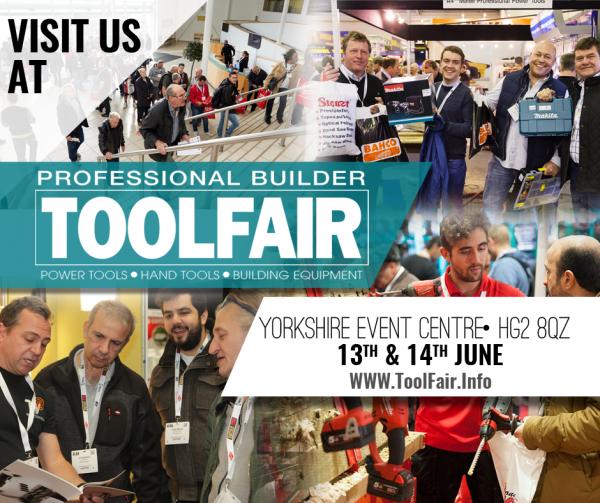 Visit Van Guard at Harrogate Tool Fair, Elex & Pro Builder Live - 13th-14th June 2018