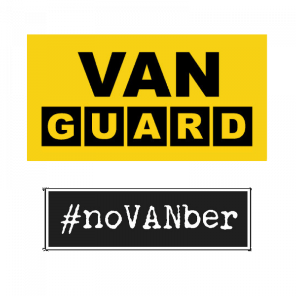 Van Guard are supporting #noVANber, are you?