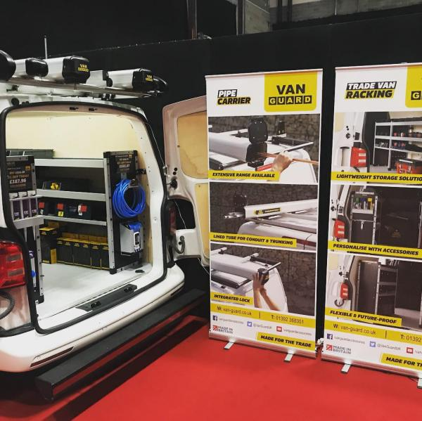 Van Guard visits Ricoh Arena for Coventry's Tool Fair & Elex Show