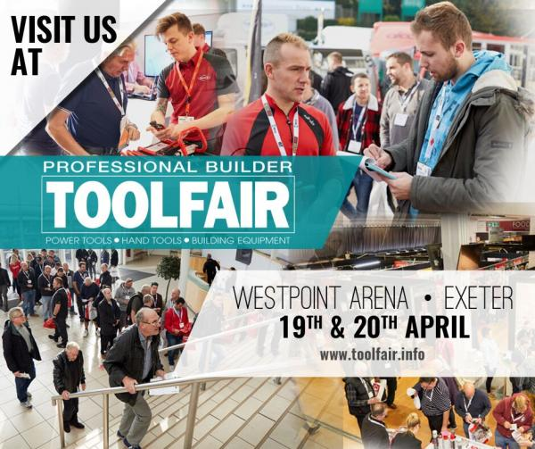 Visit Van Guard at Exeter Toolfair & Elex - 19th-20th April 2018