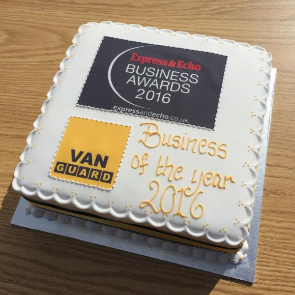 How did we celebrate our Express & Echo Business Award wins? With Cake of Course!