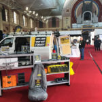 Van Guard attend their first Tool Fair of 2019 at Alexandra Palace, London