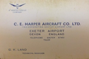 CE Harper Aircraft Co. Ltd