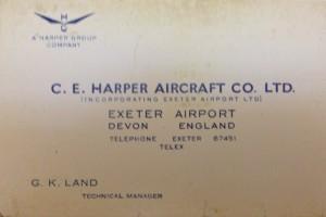 CE Harper Aircraft Co. Ltd