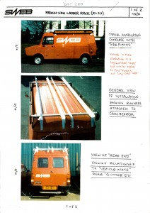 SWEB Ladder Rack