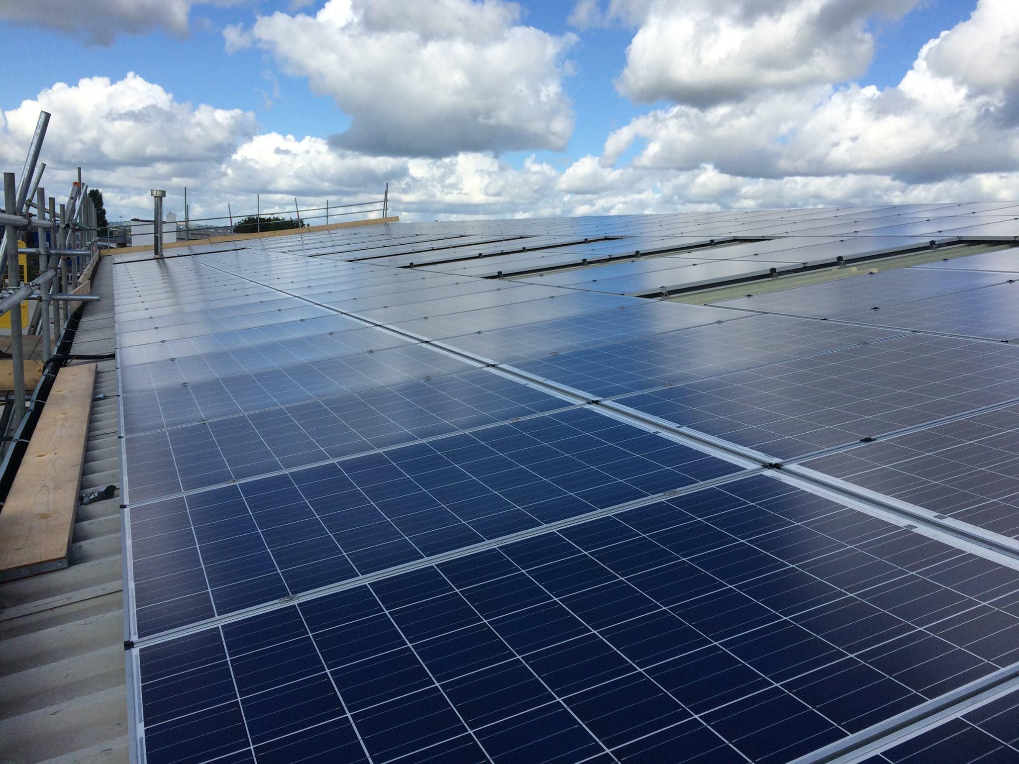 van guard solar panel installation