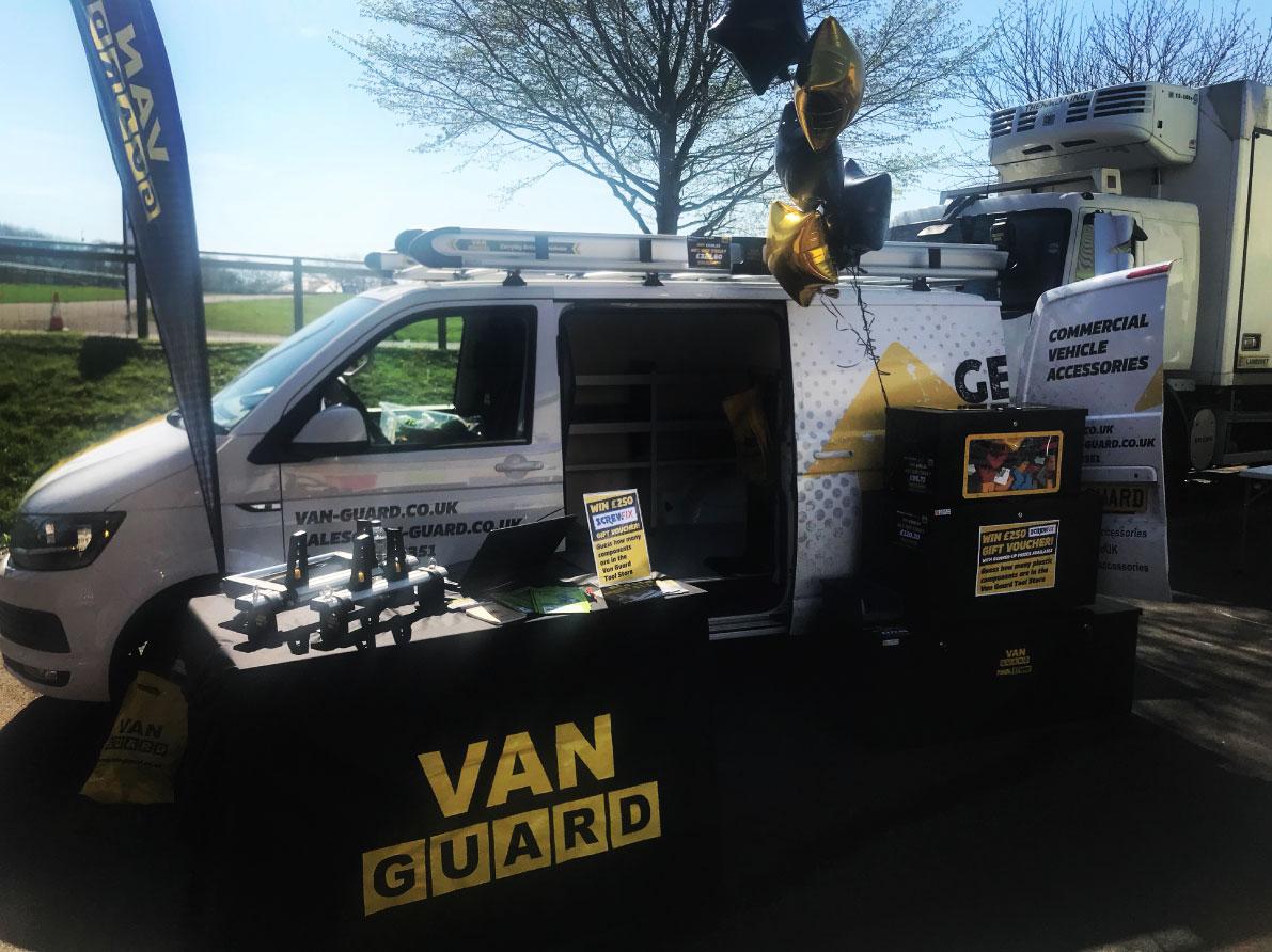 Van Guard Attend Exeter Tool Fair 2018 Van Guard