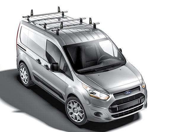Fiat Fiorino Roof Rack Ladder Bars 2 x Van Guard ULTI Bar Aluminium 2008+