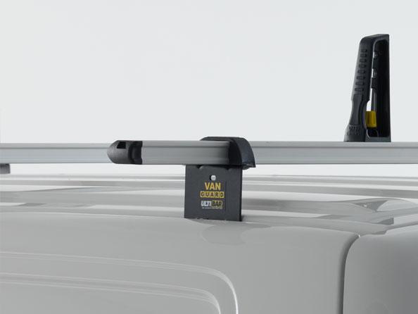 Van Guard Ulti Bar 3 Bar Roof Rack and Rear Ladder Roller Kit for Citroen Relay 2006 on