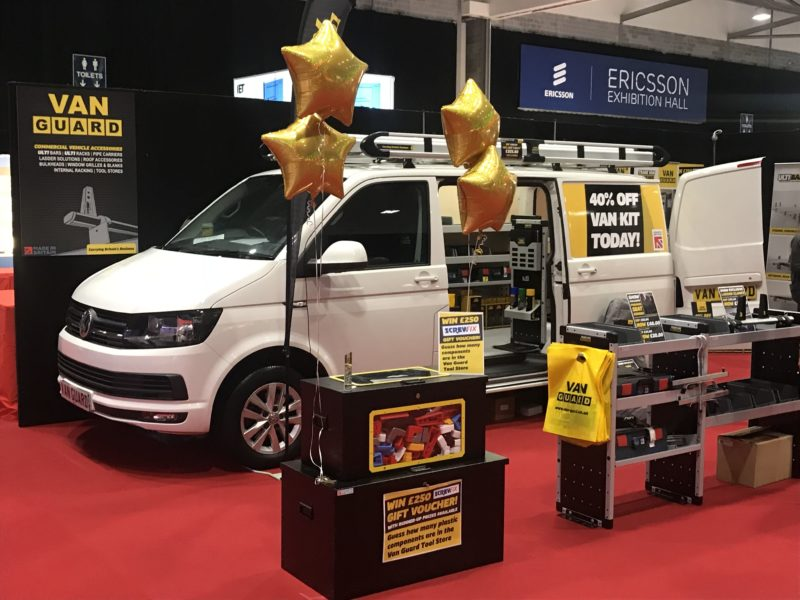Van Guard attend Ricoh Arena, Coventry