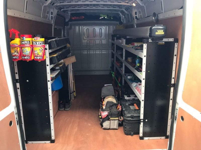 Van Guard Van Racking & Pipe Carrier