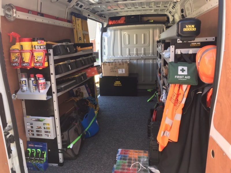 Van Guard Trade Van Racking