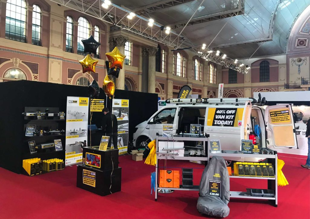Van Guard at the Alexandra Palace Tool Fair