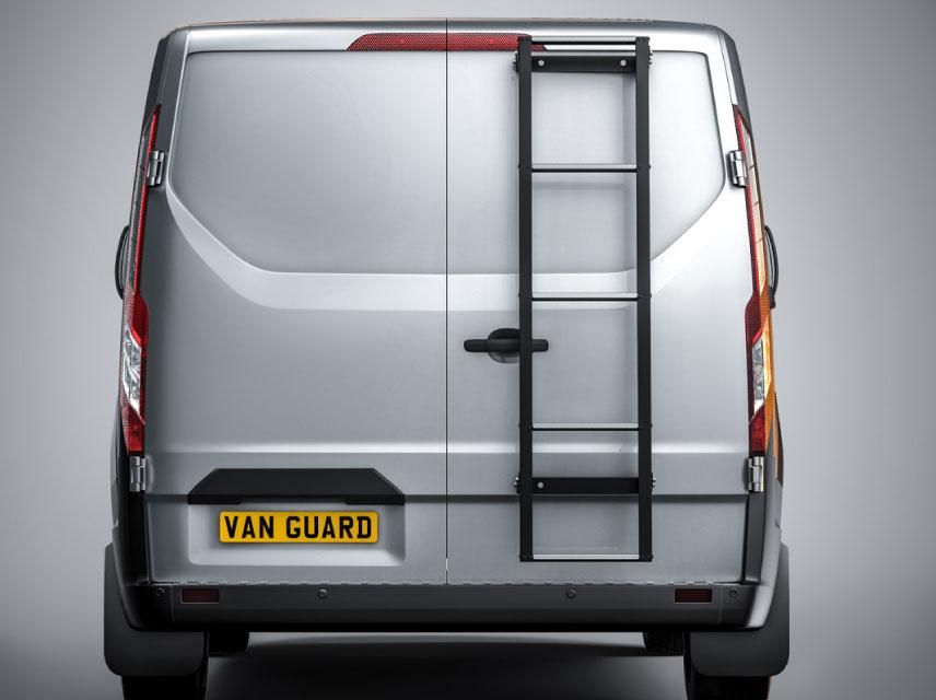 van rear door ladder
