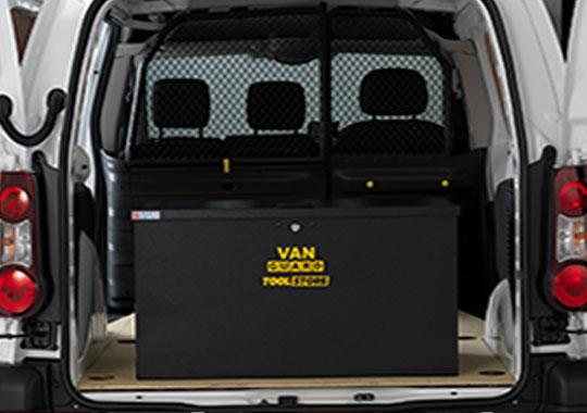 tool storage for vans